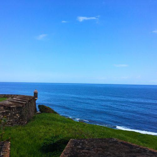 Part of Castillo San Cristóbal