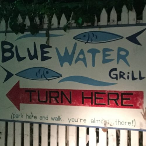 Blue Water Grill