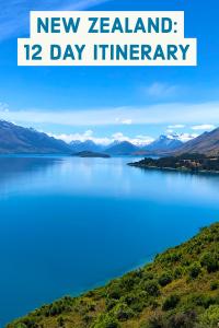 New Zealand 12 Day Intinerary